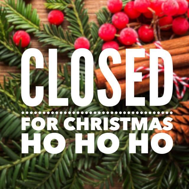 Closed For Christmas.Closed For Christmas Day Baldy