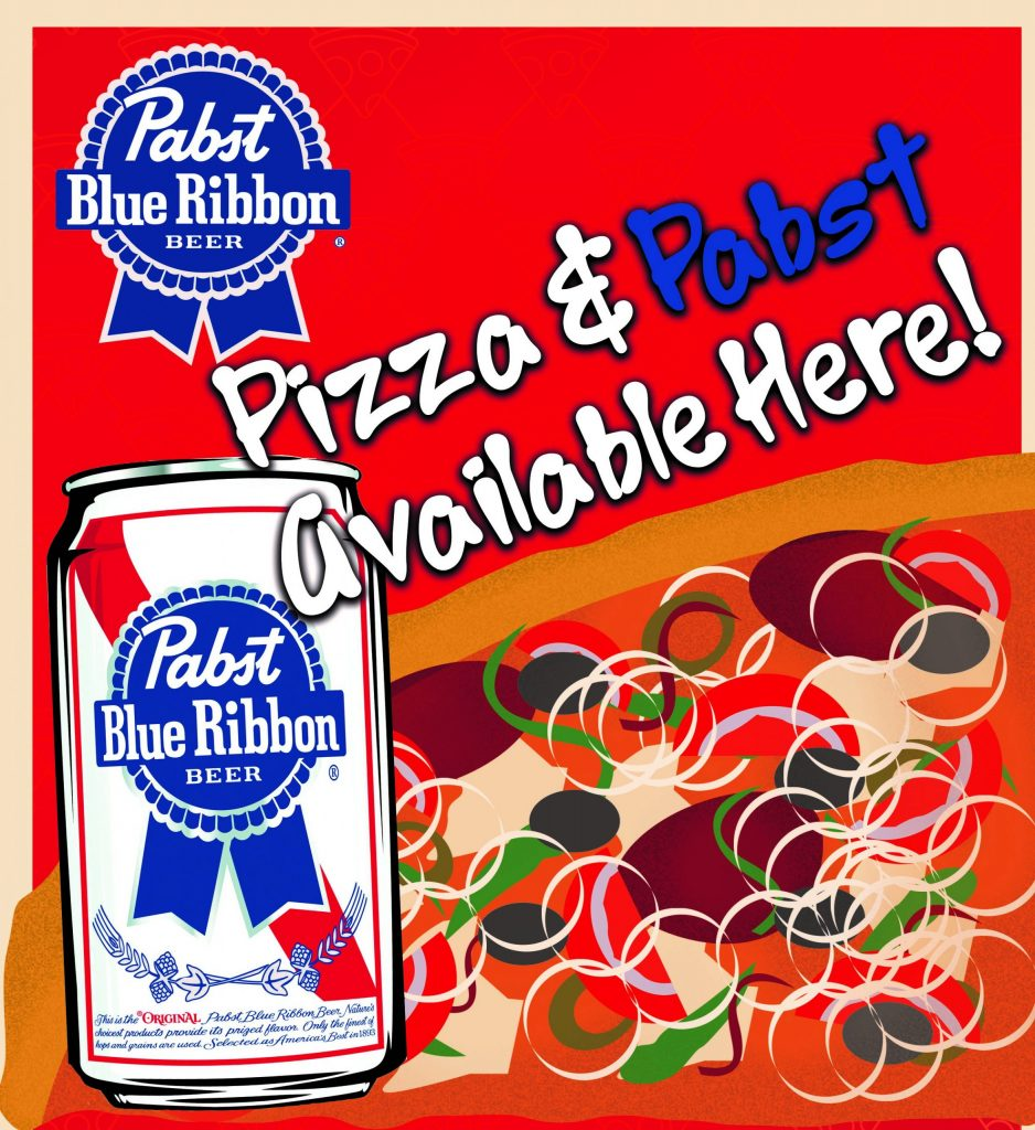 Pizza & Pabst